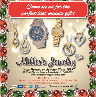 Come See Us For The Perfect Last Minute Gift!