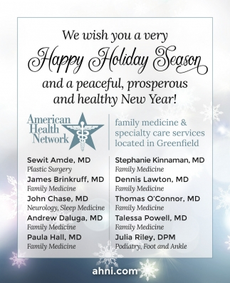 We Wish You A Very Happy Holiday Season And A Peaceful, Prosperous ...