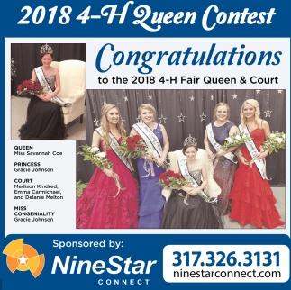 2018 4-H Queen Contest