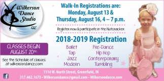 2018-2019 Registration