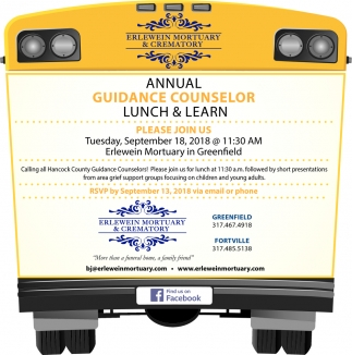 Annual Guidance Counselor Lunch And Learn