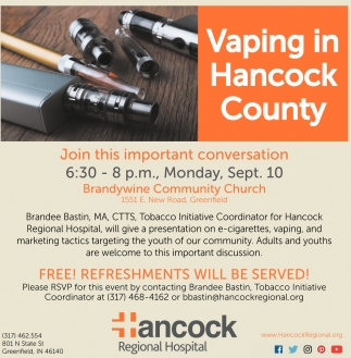 Vaping In Hancock County