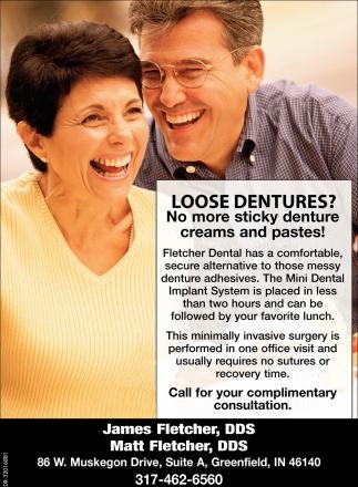 Loose Dentures?