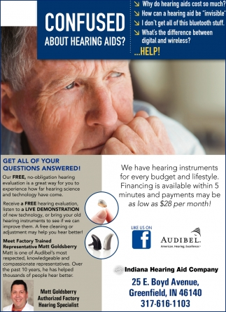 Confused About Hearing Aids?