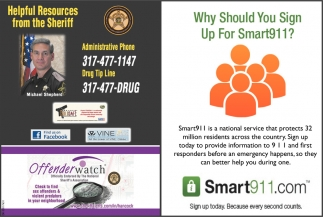 Why Should You Sign Up For Smart911?