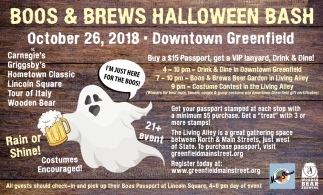 Boos & Brews Halloween Bash