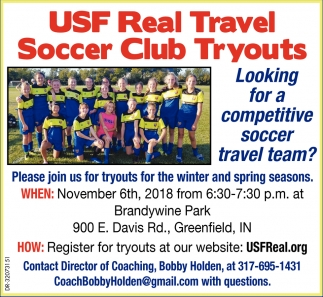 Looking For A Competitive Soccer Travel Team?