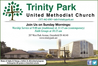 Join Us On Sunday Mornings