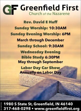 Rev. David E Huff