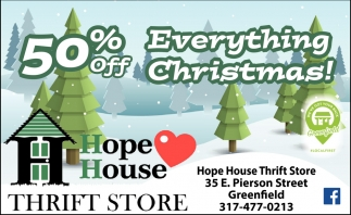50% Off Everything Christmas!