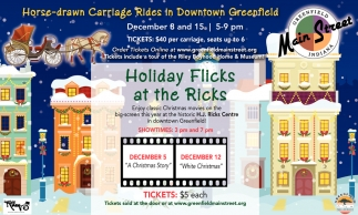 Holiday Flicks At The Ricks