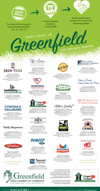 Shop Local In Greenfield This Holiday Season