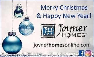 Merry Christmas & Happy New Year!