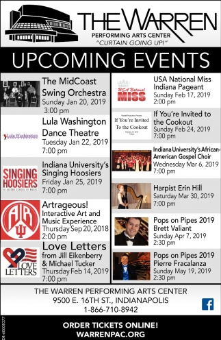 Upcoming Events!