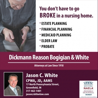 You Don't Have To Go Broke In A Nursing Home.