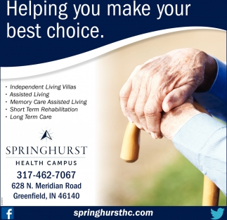 Helping You Make Your Best Choice