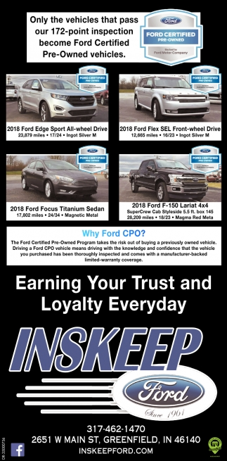 Earning Your Trust And Loyalty Everyday