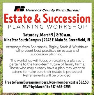 Estate & Succession Planning Workshop