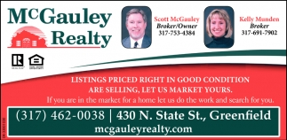 Listings Priced Right In Good Condition Are Selling, Let Us Market Yours.