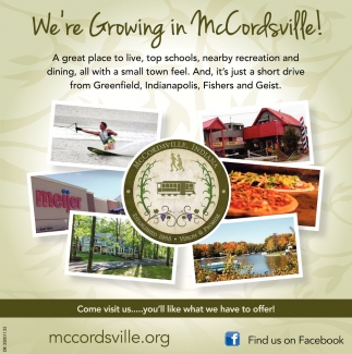 We're Growing In McCordsville!
