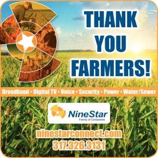 Thank You Farmers!