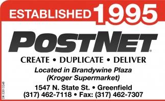 Established 1995 postnet colourmoves