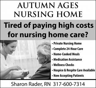Tired Of Paying High Costs For Nursing Home Care?
