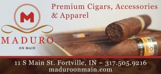 Premium Cigars, Accessories & Apparel