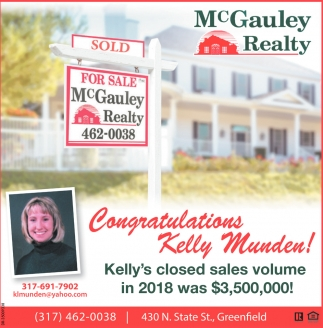 Welcome Our Newest Agent Kelly Munden!
