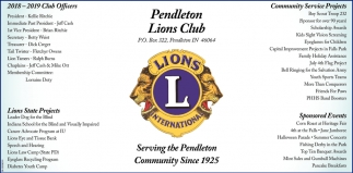 Serving The Pendleton Community Since 1925