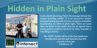 The HIPS Trailer Will Be At The June Jamboree!, Hidden In