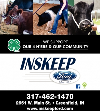 We Support Our 4-H'ers And Our Community
