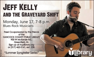 Jeff Kelly And The Graveyard Shift