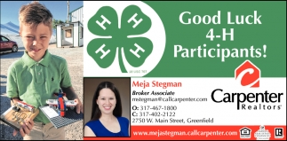 Good Luck 4-H Participants!