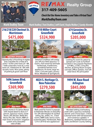 Check Out Our Home Inventory And Take A Virtual Tour!
