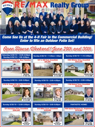 Open House Weekend! June 29th And 30th