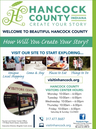 Welcome To Beautiful Hancock County