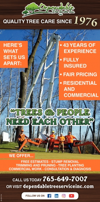 Quality Tree Care Since 1976