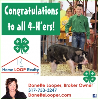 Congratulations To All 4-H'ers!