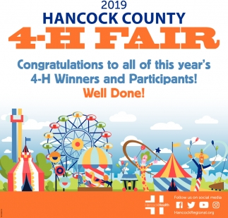 2019 Hancock County 4-H Fair