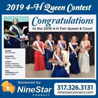 2019 4-H Queen Contest