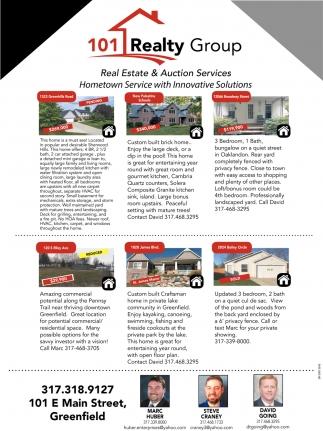 Real Estate & Auction Services