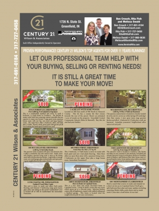 Let Our Professional Team Help With Your Buying, Selling Or Renting Needs!