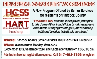 Financial Capability Workshops