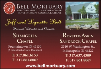 Jeff And Lynette Bell, Funeral Director And Owners