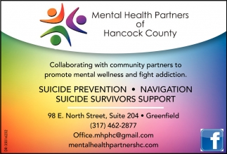 Collaborating With Community Partners to Promote Mental Wellness And Fight Addiction