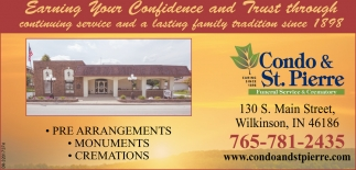 Pre-Arrangements - Monuments - Cremations