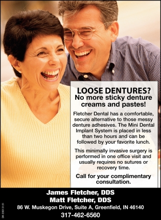 Loose Dentures? No More Sticky Denture Creams And Pastes!