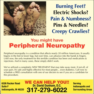 You Might Have Peripheral Neuropathy