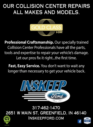 Our Collision Center Repairs All Makes And Models